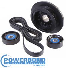 POWERBOND 20% UNDERDRIVE POWER PULLEY KIT HOLDEN COMMODORE VE SIDI LLT 3.6L V6