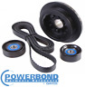 20% UNDERDRIVE PULLEY KIT TO SUIT HOLDEN COMMODORE VE SIDI LLT 3.6 V6 TO 08/10