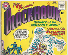 DC Comics Blackhawk #191 Menace of Molecule Man! from Dec. 1963 in VG con.