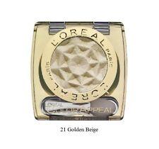 L'oréal colore Appeal Singolo Ombretto Crome Lucentezza Schiuma Roll 21 Beige dorato