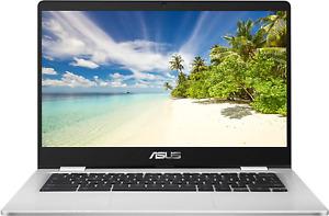 "ASUS Chromebook C423NA 14"" Laptop, Intel Celeron N3350, 4GB RAM, 64GB eMMC"
