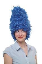 Mardi Gras Carnaval Halloween Perruque Beehive wig baroque DRAG QUEEN BLEU 8648-pc3