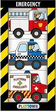 Chunky 3 Pack: Playtown Emergency Pack by Roger Priddy (2016, Board Book), New