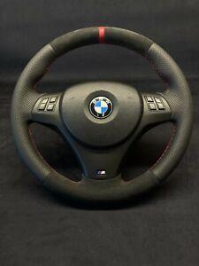 Bmw E82 E84 E87 E88 E90 E91 E92 E93 Alcantara Steering Wheel Refurbished Cutom