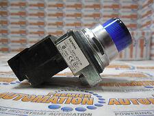 SIEMENS, 52PL4D5XB, PILOT LIGHT FULL VILTAGE TYPE, 24-28 VOLTS, BLUE, LED BULB