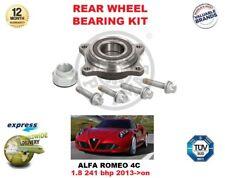 Per Alfa Romeo 4C 1.8 241 Bhp 2013- > su Kit Cuscinetto Ruota Posteriore