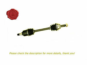 1 LHS Ford Festiva WA WB WD WF 1.3L Manual CV Joint Drive Shaft 6/91-12/00