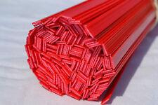 Pp PLASTIQUE Baguettes de Soudage (10mm) Rouge, 20 Pièces, Automobile Industry-