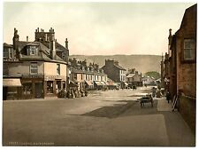 3 Victorian Views of Largs Main Street Vintage Repro Old Colour Photos Pictures