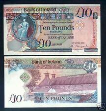 NORTHERN IRELAND 10 Pounds 2008  UNC P 84