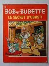 BOB ET BOBETTE n° 155  LE SECRET D'UBASTI   ( EAUBO )  réédition
