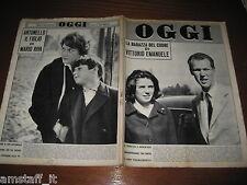 RIVISTA OGGI 1961/13=dominique claudel=DIANA DEI=STELLA STEVENS=JULIETTE GRECO=