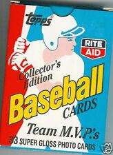 1988 Topps Baseball - Team MVP's w/ Cal Ripken