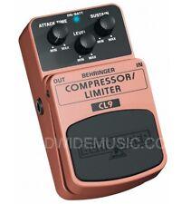 Behringer Compressor Limiter CL9 Guitar FX Pedal Stomp Box