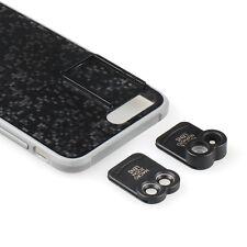 Dual Optics Zoom lens kit for Apple iPhone 7 Plus Macro Zoom Fisheye Tele black