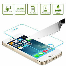 New 100% Genuine Tempered Glass for Apple iPhone 5S Film Screen Protector 5S,5