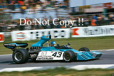 Gerard Larrousse Brabham BT42 Belgian Grand Prix 1974 Photograph 1