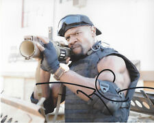 TERRY CREWS SIGNED AUTHENTIC 'THE EXPENDABLES' 8X10 PHOTO w/COA IDIOCRACY ACTOR