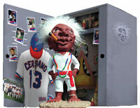 Jobu Figure Major League Movie Pedro Cerrano Voodoo Doll Cleveland Indians Gift