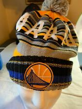 Mitchell And Ness Golden State Warriors Beanie