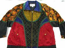 Giacca Sport Ladies Bomber S Jacket Windbreaker Baroque Black Green Purple Red