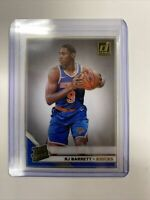 2019/20 Panini Clearly Donruss RJ Barrett Rated Rookie Gold Parallel Acetate