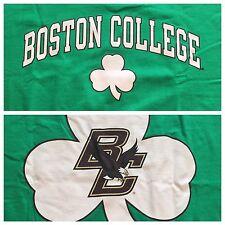 Boston College Green Shamrock T-Shirt By Champion NWT XXL 2XL