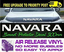 For Nissan NAVARA BONNET PROTECTOR DECAL Sticker 300mm