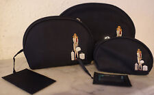Fiorelli small medium large make up cosmetics travel bag mirror suitcase x 3 new
