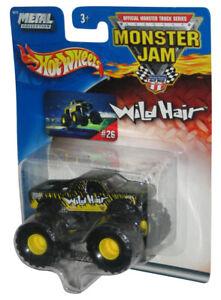 Hot Wheels Monster Jam Wild Hair (2002) Mattel Metal Collection 1:64 Toy Truck #