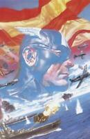 Captain America #1 (Vol 8) 1:100 Alex Ross Wraparound Virgin Variant