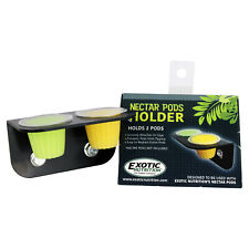 Nectar Pods Holder - Cage Accessory for Sugar Gliders, Parrots, Geckos