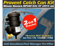 17 ProVent Oil Catch Can Kit for Nissan Navara (2015 on) 4x4 D23 ST NP300