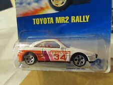 Hot Wheels Toyota MR2 Rally #233 White from 1991 5 hole