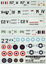 Colorado Decals 1/72 North American P-51C/D Mustang # 72048