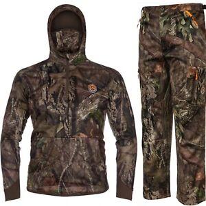 ScentLok Savanna Aero Hunting Jacket & Pants Mossy Oak Country XXL XL Bowhunting