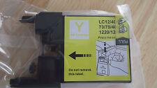 NEW Yellow Ink Cartridge LC12/40/71  73/75/400  1220/1240 Printer