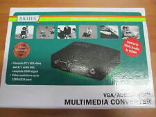 Digitus ds-40130 multimedia VGA/audio a HDMI Converter notebook, a similares TV