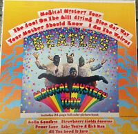 THE BEATLES MAGICAL MYSTERY TOUR w/ BOOKLET CAPITOL VINYL SMAL-2835.  VG+