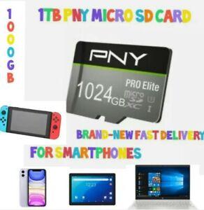 1Tb Pro Elite Micro SD Card+ SD Adapter & USB Adapter