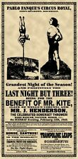 "Beatles ""benefit of Mr Kite"" Sgt Pepper's Circus Poster"