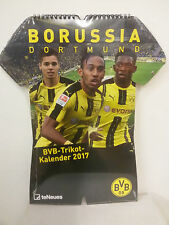 TENEUES BORUSSIA DORTMUND BVB TRIKOT KALENDER 2017  (KL4)