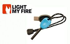 FireSteel Scout 2.0 Light My Fire Steel LIGHT BLUE Starter 3k Strikes w/ Whistle