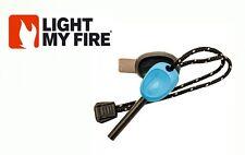 FireSteel Scout 2.0 Light My Fire Steel LIGHT BLUE Starter 3k Strikes w/ Whistle