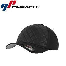 Flexfit Diamond Quilted Baseball Cap L/XL Schwarz