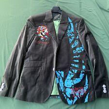 XL Ed Hardy Men's Blazer/Sports Coat Blazer Ed Hardy By Christian Audigier