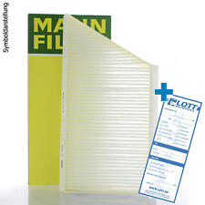 Mann-Filter interior filtro filtro de polen filtro interior aire freciousplus