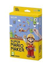 Super Mario Maker + Artbook   nintendo  WII U