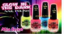 4pc FULL SET Mia Secret Glow in The Dark Nail Polish Lacquer All 4 Colors