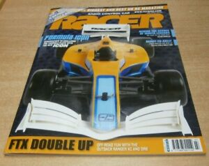 Radio Control Car Racer magazine Jul 2021 FTX Double Up, Formula Icon, PTG-2